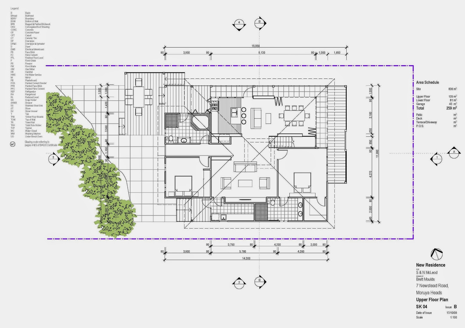 I will design professional 2d loft conversion for Site plan dimensions